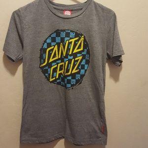 Boys Santa Cruz t-shirt size 12-14 large